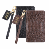 Caiman Crocodile Natural Leather Cell Phone Case